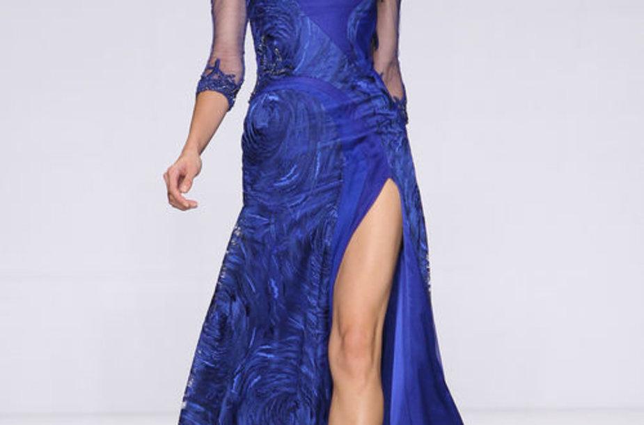 Dizaineris iš Libano Tony Wardas nustebina princesių suknelėmis.