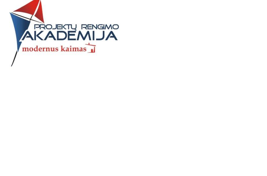 """""""Projektų rengimo akademija"""" logotipas"""