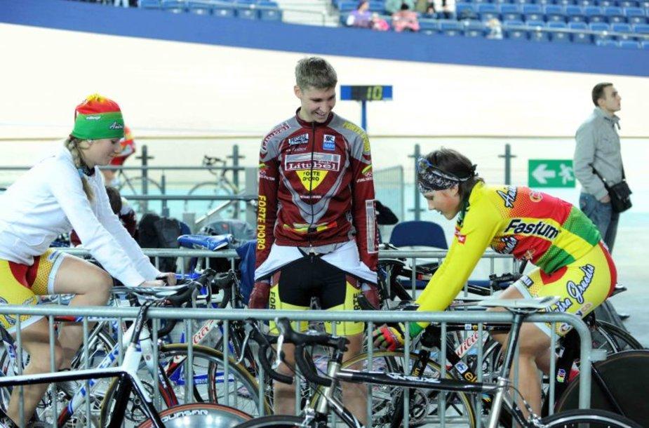 Panevėžyje pradėtas statyti dviračių sporto centras