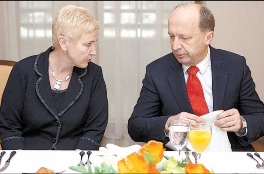 I.Degutienė ir A.Kubilius