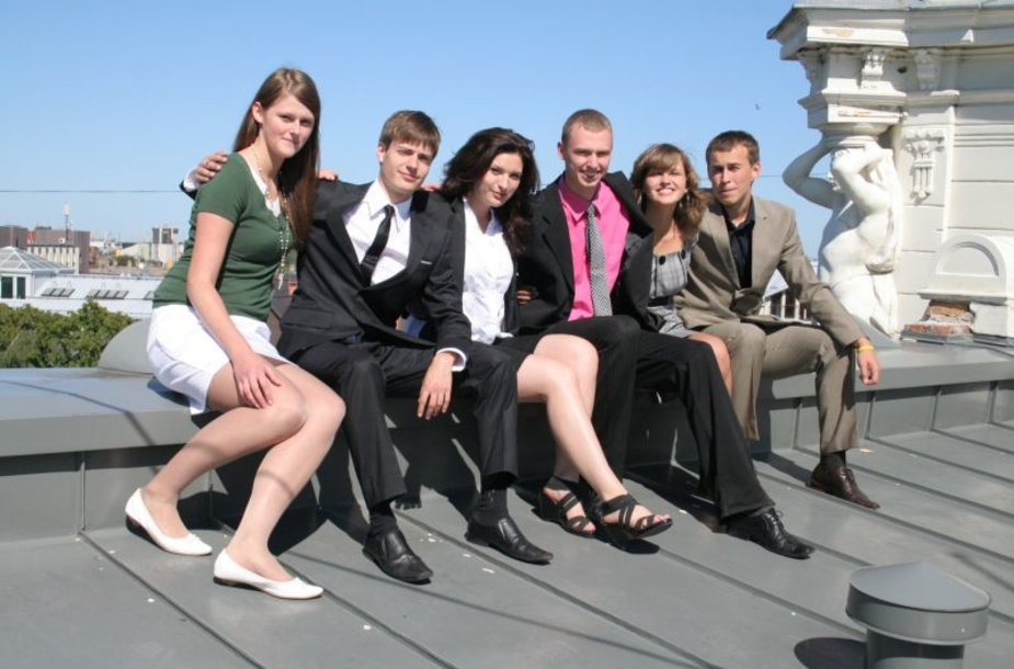 """""""Peak Time 2010"""" konkurso organizatoriai"""