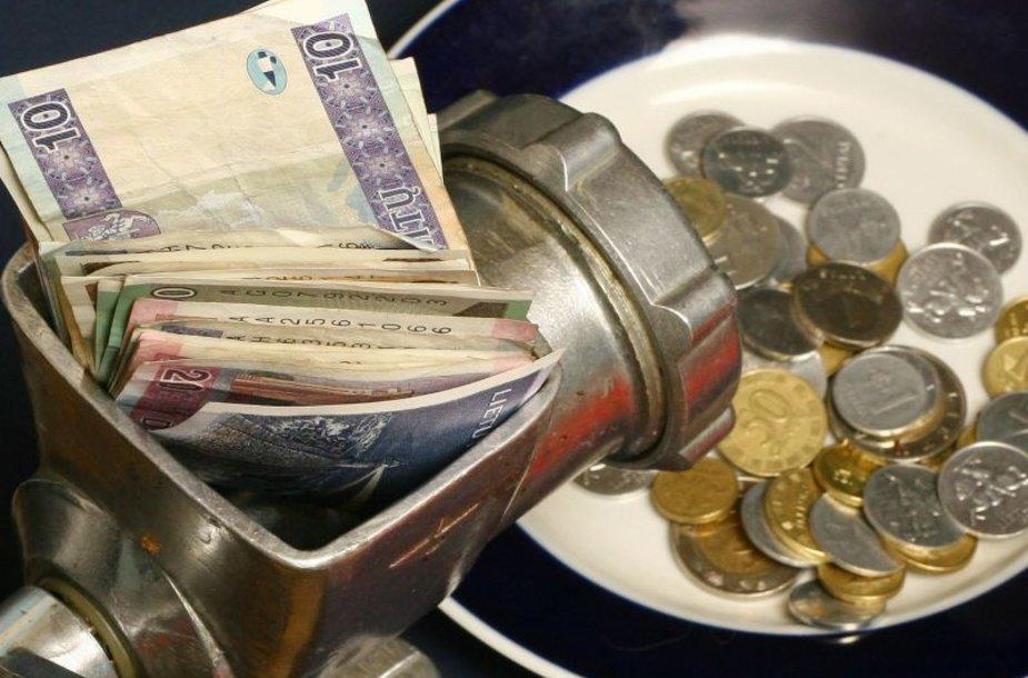 Padalinti pinigai sporto federacijoms