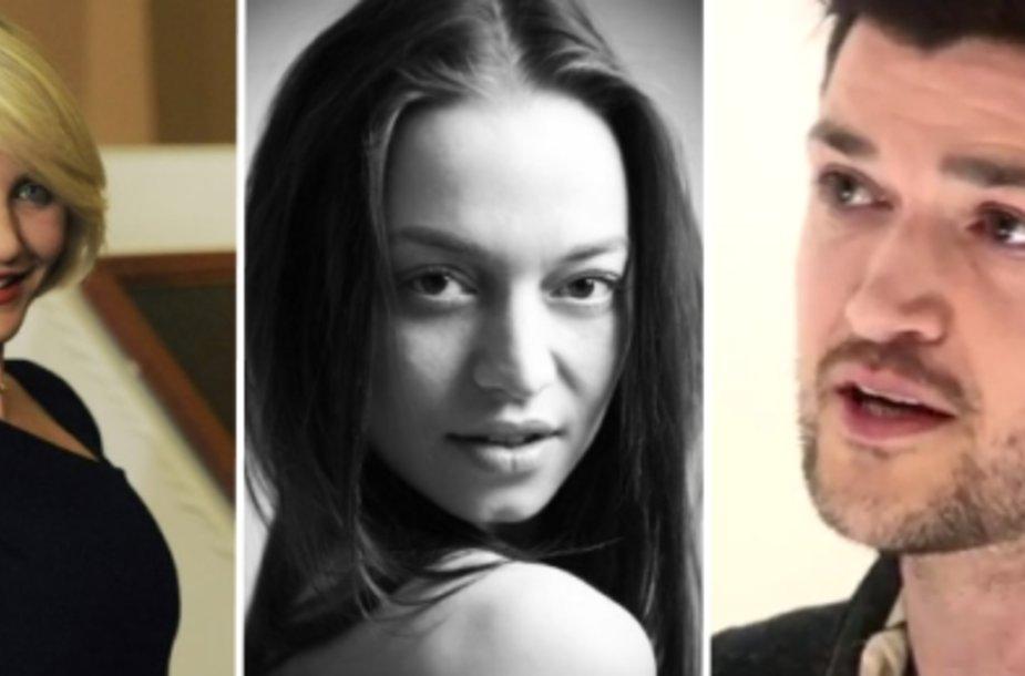 Cameron Diaz, Irma Malinauskaitė, Danny O'Donoghue