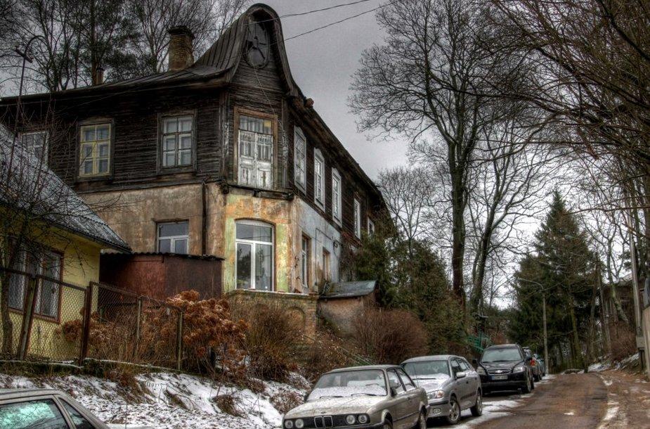 Vilnius, kokio nemato turistai (Pavasario g.)