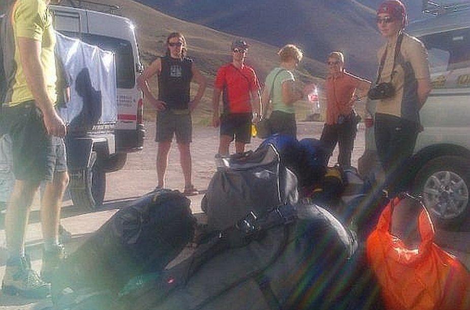 Atokvėpis Argentinoje pakeliui į Aconcagua viršukalnę