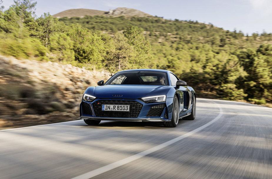 """Atnaujintas """"Audi R8"""""""