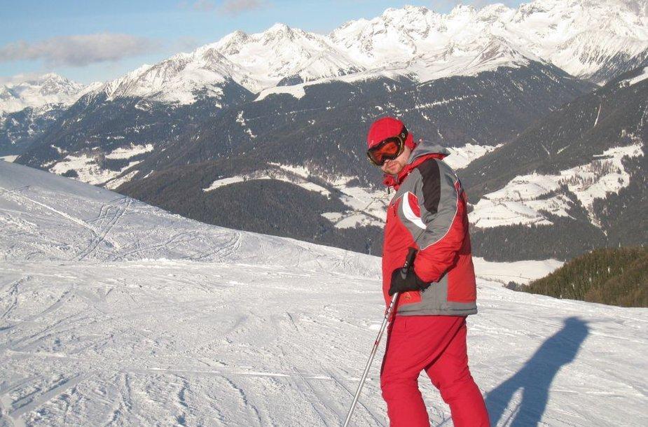 Kronplatz slidinėjimo kurortas Italijoje