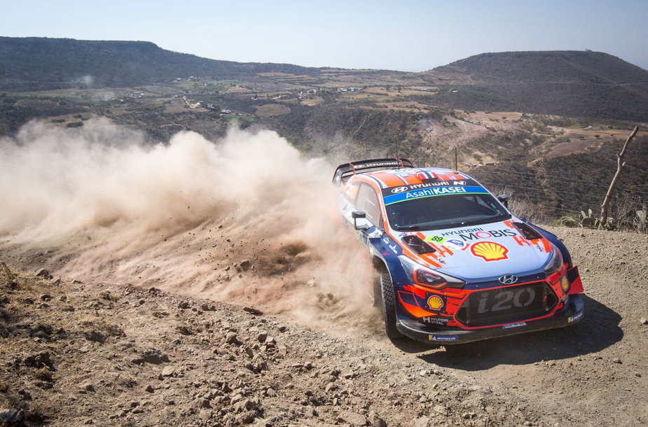 """Rally Estonia dalyvaus ir  WRC pilotas A.Mikkelsenas iš """"Hyundai Motorsport"""""""
