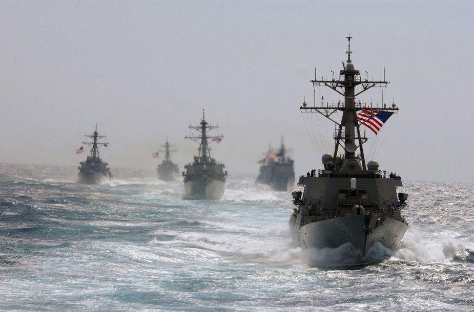 JAV karinis laivas USS PORTER