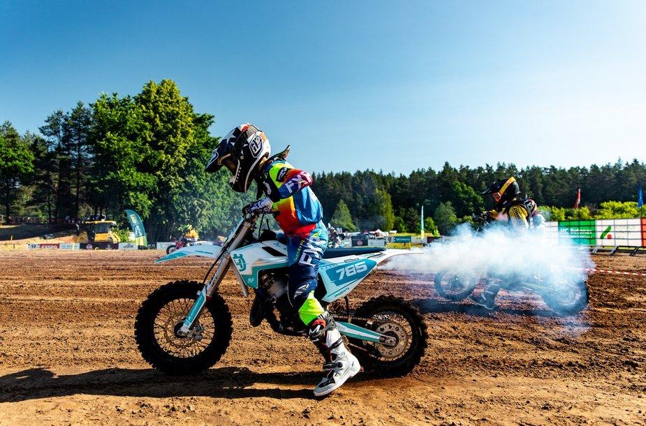 Lietuvos motokroso čempionato etapas Mickūnų MX parke