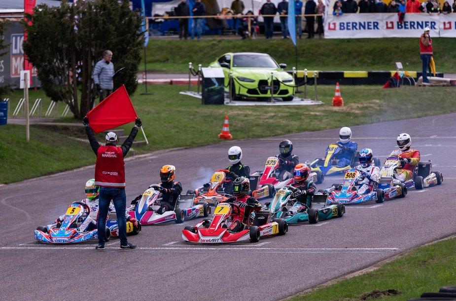 """Rotax Max Lithuania Challenge powered by Spark Energy"" kartingų varžybos"