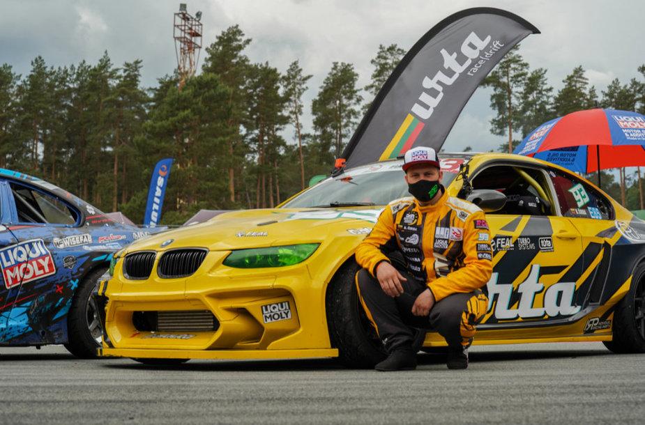 """B. Čirbos pasirodymas """"FIA Intercontinental Drifting Cup"""" kvalifikacijoje"""