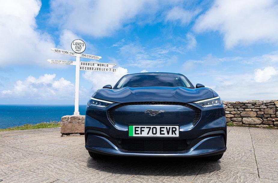"Elektromobilio ""Ford Mustang Mach-E"" rekordas"