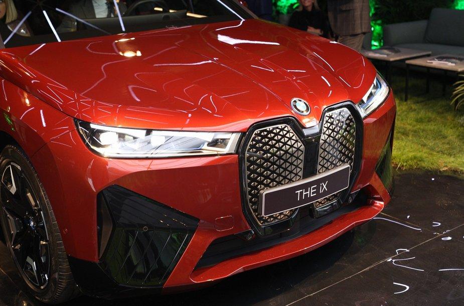 """BMW ix ir i4 pristatymas konferencijoje """"Lūžio taškas"""""""
