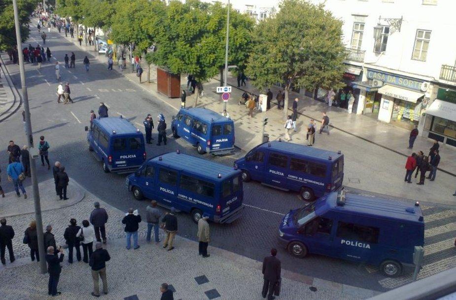 Profsąjungų streikas Lisabonoje