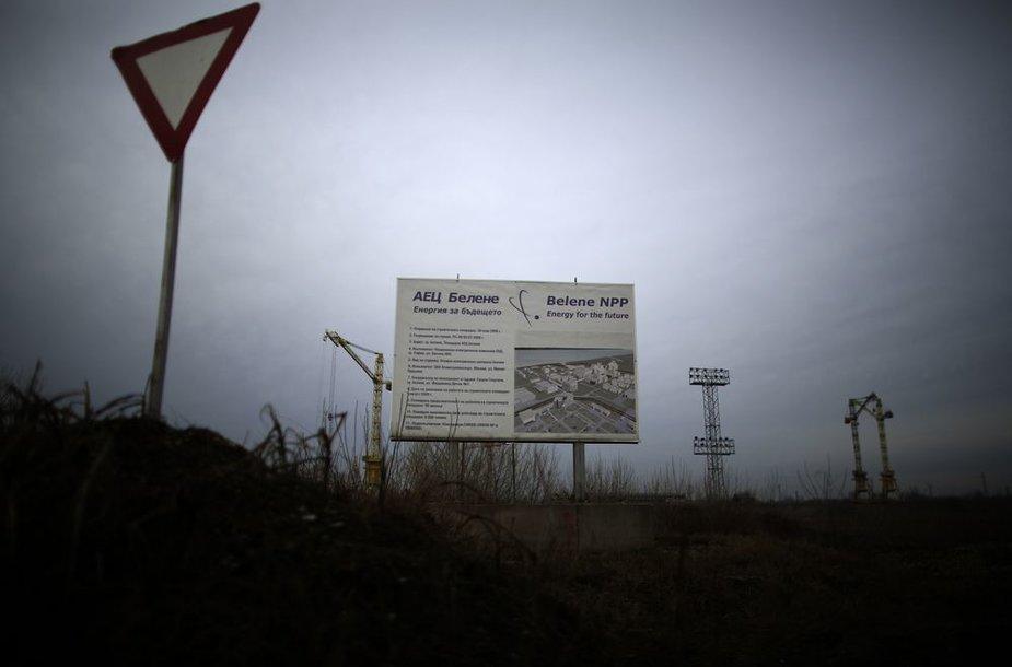 Antrosios Bulgarijos atominės elektrinės statybos Belenėje