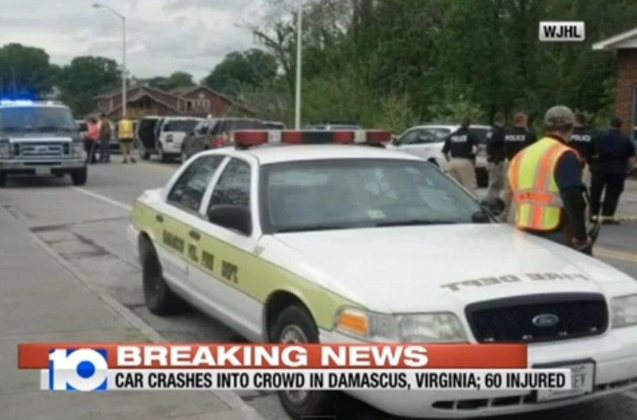 Incidentas Virdžinijoje, Damasko mieste