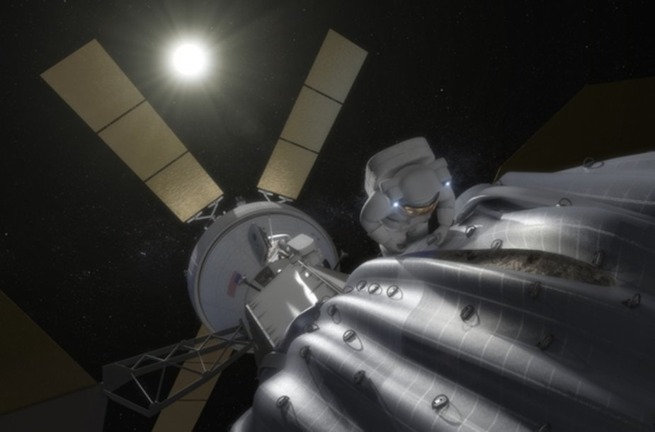 Pilotuojamas asteroido užgrobimas