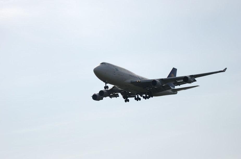 "Vilniuje leidosi retas svečias – ""Boeing 747"""