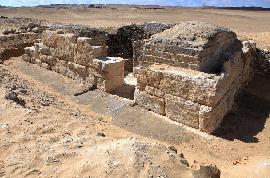Egipte čekų archeologai rado nežinomos karalienės kapą