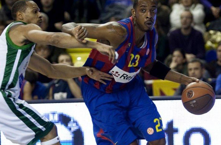 """""""Žalgiris"""" gėdingai sutriuškintas Barselonoje"""