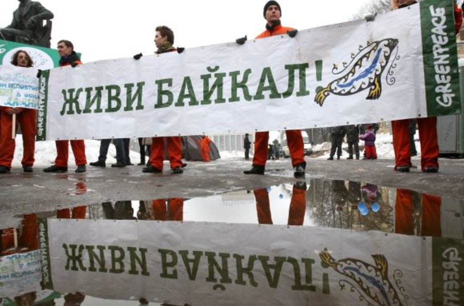 Baikalo gynėjų demonstracija
