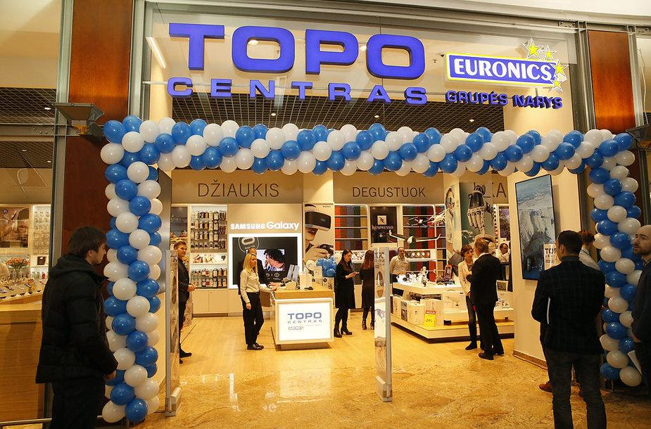 """""""Topo centro"""" salono-kavinės atidarymas Vilniaus """"Akropolyje"""""""