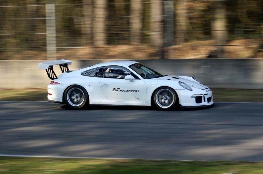 """Steve'o Vanbellingeno """"Porsche GT3 Cup"""""""