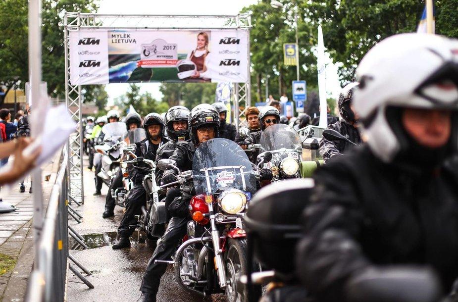 """""""Ryterna modul Mototourism rally"""": įspūdingiausi kadrai"""