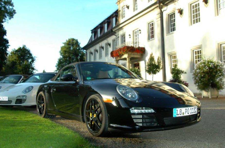 """Savaitgalis Vokietijoje su """"Porsche 911"""""""