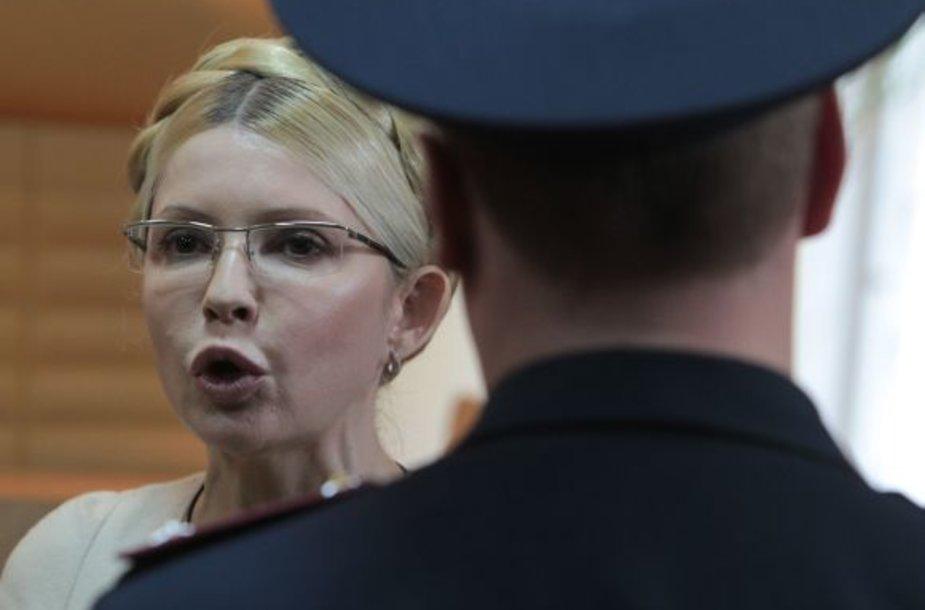 Julijos Tymošenko teismo nuosprendis sukėlė prostestų bangą