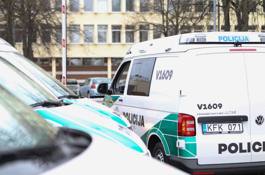 """Vilniaus apskrities policijos """"VW Transporter"""""""
