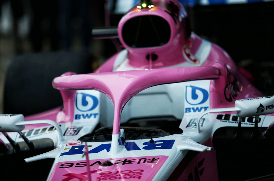 """""""Halo"""" apsauga """"Formulės 1"""" automobiliuose"""