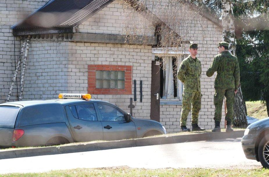Lietuvos didžiojo kunigaikščio Gedimino štabo bataliono teritorija