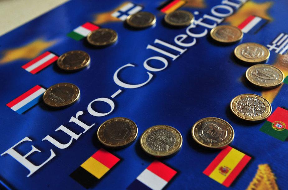 Eurų monetos
