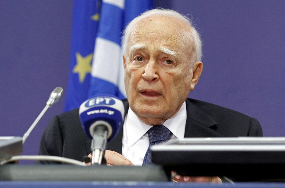 Graikijos prezidentas Karolas Papulijas