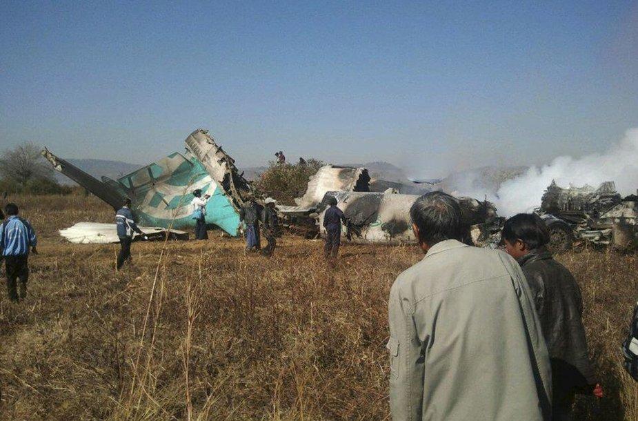 Aviakatastrofa Mianmare