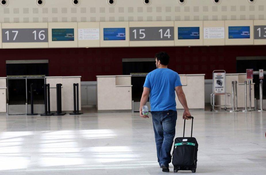 Dėl skrydžių dispečerių streiko Prancūzijoje antradienį atšaukta apie 1,8 tūkst. skrydžių.