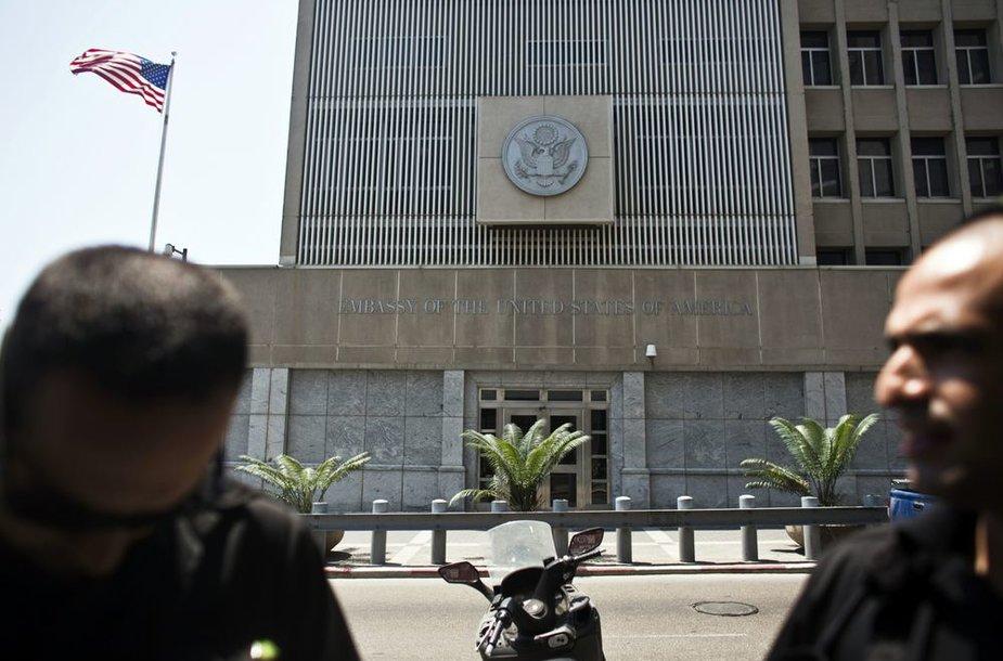 Uždaryta bus ir JAV ambasada Tel Avive.