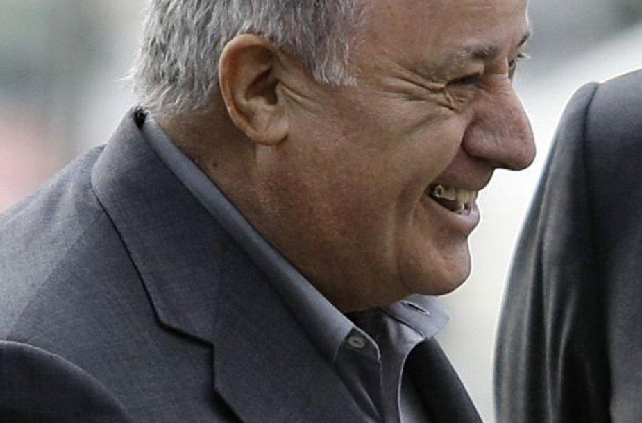 Septintoji vieta – Amancio Ortega (Ispanija) – 31 mlrd. dolerių