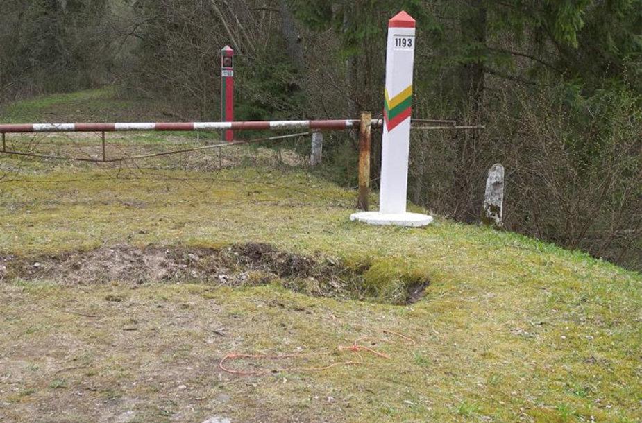 Lietuvos ir Baltarusijos siena