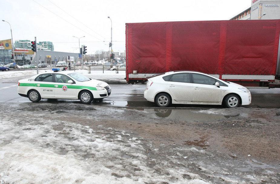 Incidentas Vilniuje, Laisvės pr.