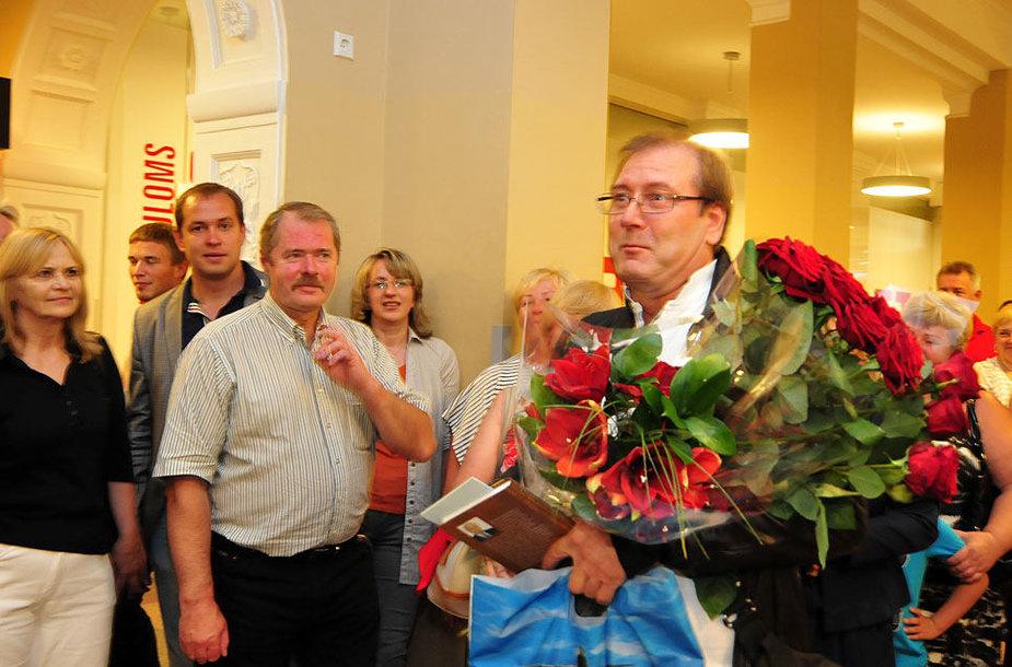 Viktoras Uspaskichas grįžo į Lietuvą