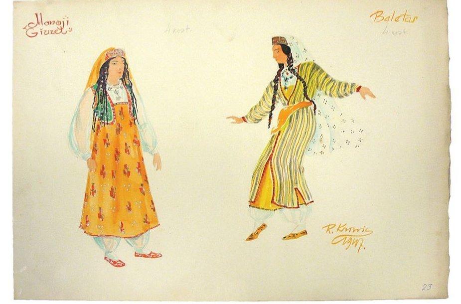 """""""Manoji giuzel"""" 1947 m. Ramazanas Krinickas"""