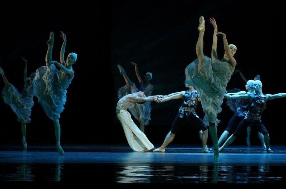 """Lenkijos nacionalinis baletas """"Tristanas ir Izolda"""""""