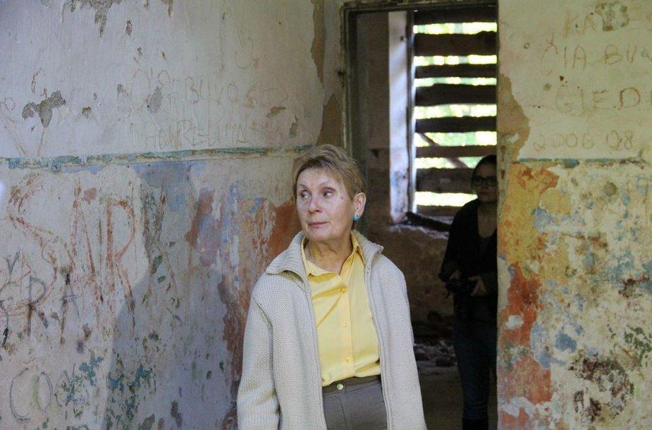Valstybinės kultūros paveldo komisijos pirmininkė Gražina Drėmaitė