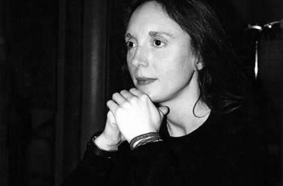 Kompozitorė Rebecca Saunders