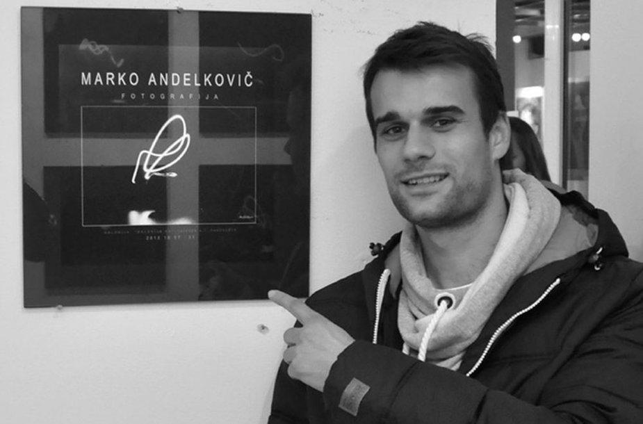 Marko Andelkovičius atidarė fotografijos parodą
