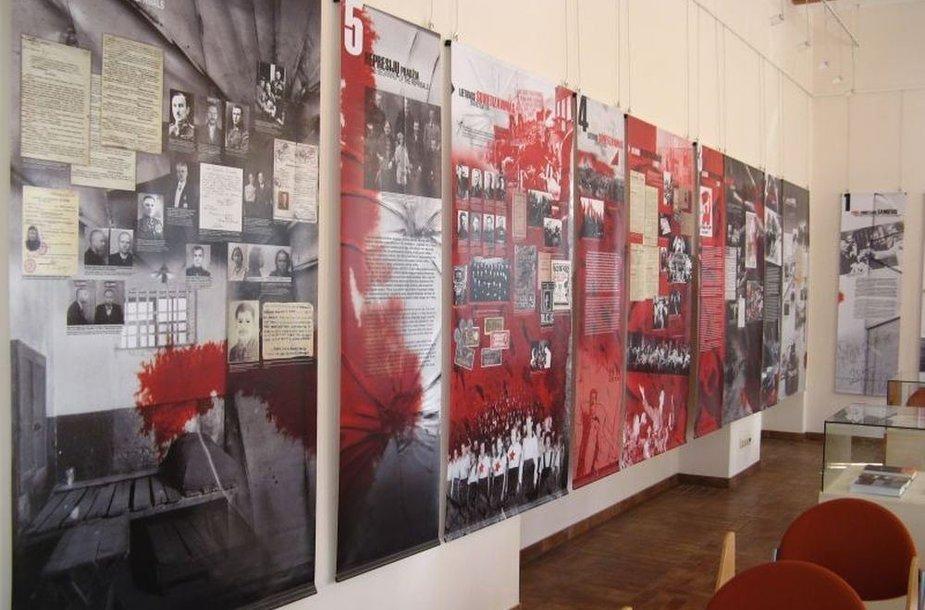 "Paroda ""Smurto kronika: Lietuva 1939 – 1941"""