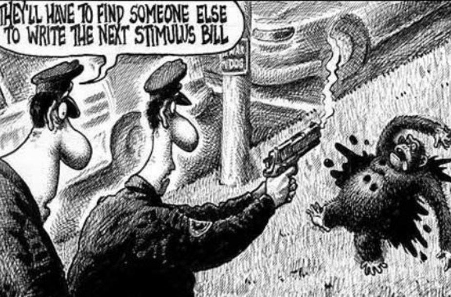 Publikuota karikatūra